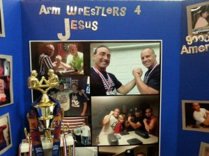 Vinny you were awesome at the Expo Armwrestling Exhibition!