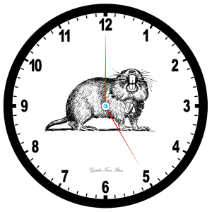 Gopher Clock